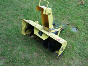 John Deere Snow Thrower / Blower Attachment