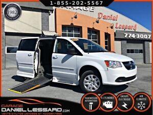 Dodge Grand Caravan SXT SAVARIA,  CONVERTIE ** POUR TRANSPORT AD