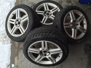 "Audi 17"" wheels and tires Priced to sell!!"