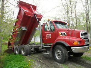 Dump Truck Service ~ J. Brown Excavating Ltd.