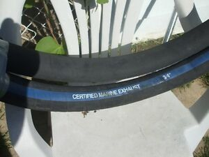 "1-3/4"" certified marine exhaust hose"
