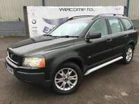 2005 VOLVO XC90 2.4 D5 S AWD DIESEL SAT NAV PARKING SENSORS 18 INCH ALLOYS FULL