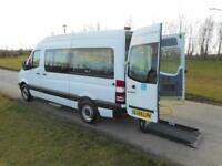 2008 Mercedes-Benz Sprinter 9 SEATS Wheelchair Accessible Adpated Vehicle WAV
