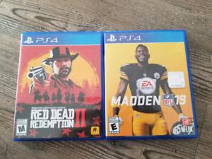 Red Dead 2 ** Madden 19