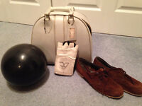 BOWLING BALL AND SHOES