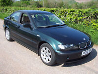 2003 03 Plate BMW 318 2.0i SE In Boston Green With Full Cream Leather