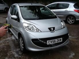 Peugeot 107 1.0 12 MONTHS MOT,£20 A YEAR TAX,NEW CLUTCH,I OWNER FROM NEW