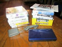 Nintendo DS- Blue with Games