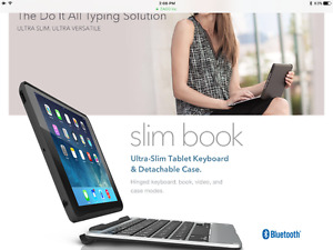 Zagg Keyboard for Ipad air pro.  - new in package never open