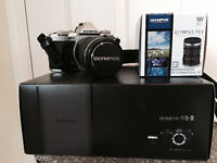 Olympus OM-D E-M5 Mark II w/ Lens and extras