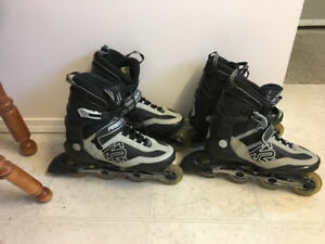 Men's Freedom Roller Blades (size 10 and 12)