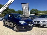 2009 09 VOLKSWAGEN POLO 1.4 MATCH 5DR AUTOMATIC 79 BHP