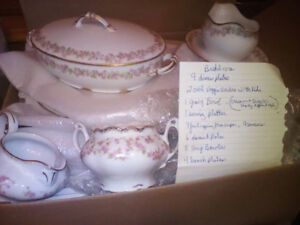 Bridal Rose china by Limoges