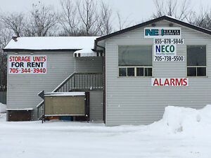 New Storage Units in Central Bobcaygeon