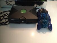 Modified Xbox with 3 controllers