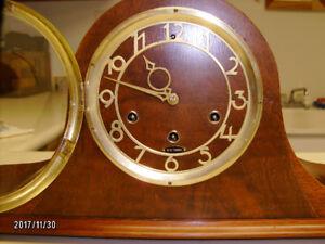 Antique Seth Thomas westminster tambour clock