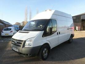 Ford Transit 2.2 TDCi Duratorq 115PS 350L High Roof Van 350 LWB 61 REG 112K