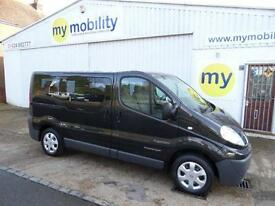 Renault Trafic 5 Seat Wheelchair Scooter Disabled Accessible MPV WAV