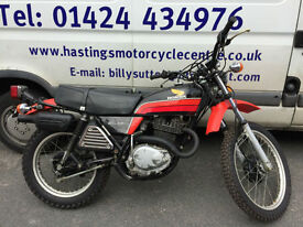 1978 Honda XL350R / XL350 Classic Trail Bike / 11500 miles from new!
