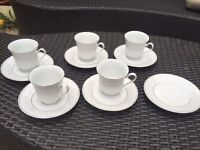 Crown Ming fine china tea cups and saucers