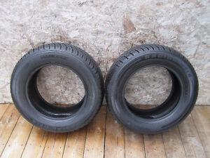 Set of 2 Hankook ,215/60/15 summer tires
