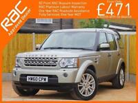 2010 Land Rover Discovery 3.0 TDV6 Turbo Diesel HSE 7-Seater 6 Speed Auto Sunroo