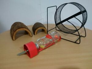 CAGE ACCOESSORIES FOR HAMSTER, BABY RAT, GERBIL, GUINEA PIG $10