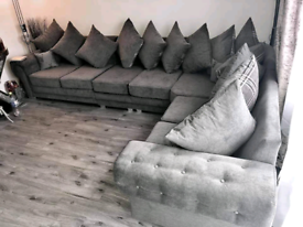 7 Seater Verona Corner Sofa With Scatter Back Cushions