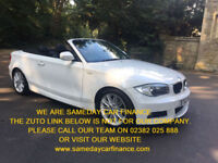BUY NOW FOR £189.34 PER MONTH 2012 CONVERTIBLE BMW 120 2.0TD M Sport