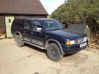 Ford Ranger XLT 2001 Double Cab Pick Up. For Repair. 9month MOT