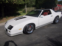 TRADE ATV OR SLED AND CASH FOR 1986 CAMARO IROC-Z!