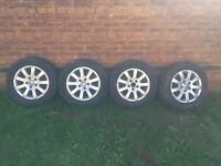vw wheels 5x112 with tyres golf polo
