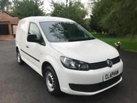 2015 65 VOLKSWAGEN CADDY C20 1.6TDI WHITE 1 OWNER FROM NEW