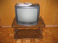 Magnasonic Color TV with TV Stand