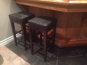 2 new condition bar stools Strathcona County Edmonton Area image 2