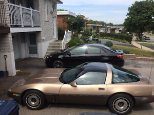 1985 CORVETTE WITH GLASS TARGA TOP! SELL $6500 OR TRADE FOR ????