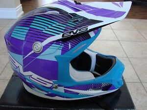 Motocross Motorcyle Helmet ~ EVS Sports Vortex T7 Crossfade NEW
