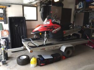 2010 Polaris Dragon Switchback 600 & Triton Trailer