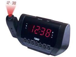 Naxa NRC-173 Projection Dual Alarm Clock AM/FM Radio