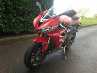 2016 66 TRIUMPH DAYTONA 675 GREAT VALUE ONLY 1500 MILES !!