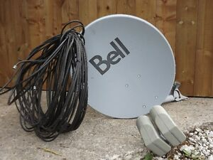 Bell Dish with cables