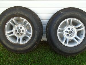 **(95% TREAD)** GOODYEAR WRANGLER TRUCK TIRES