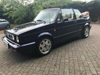 Mk1 Volkswagen Golf GTI Convertible Classicline (Rivage) Left Hand Drive Lhd