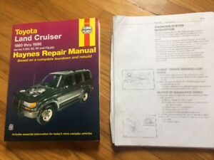 Haynes repair manual Land Cruiser/Lexus 450