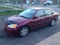 2002 Honda Civic - $3300 as is or $3700 Safety and E-tested