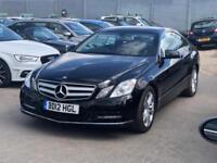 2012 Mercedes-Benz E Class 2.1 E220 CDI BlueEFFICIENCY SE 2dr