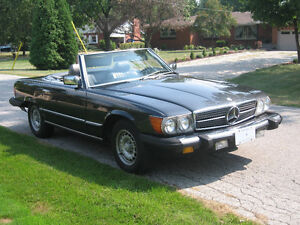 1985 Mercedes 380 SL convertible