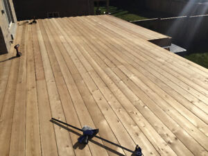 SIBERIAN LARCH ROT-RESISTANT DECKING 5/4x6