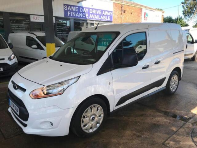 bc5ce53449aa04 Ford Transit Connect 1.6TDCi ( 95PS ) 220 Double Cab-in-Van L1 Trend ...