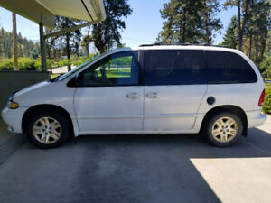 1997 Dodge Caravan with 3.8 Litre option